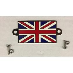 Union Jack Emaile metaal