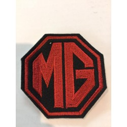 Badge rood MG logo