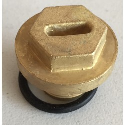 Filler plug Brass MGB