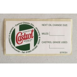 Castrol sticker CTR701